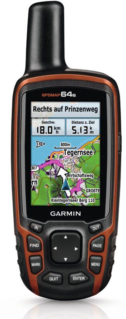 GPS-Gerät-Geocaching
