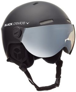 Black Crevice Snowboardhelm