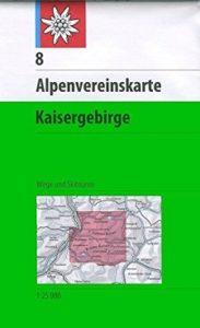 Wanderkarte Alpenvereinskarten